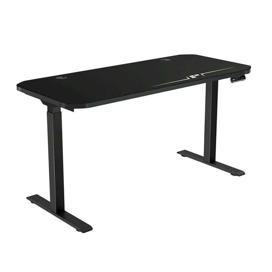 Ergopixel Altura Series Adjustable Gaming Desk Size XL (Black)